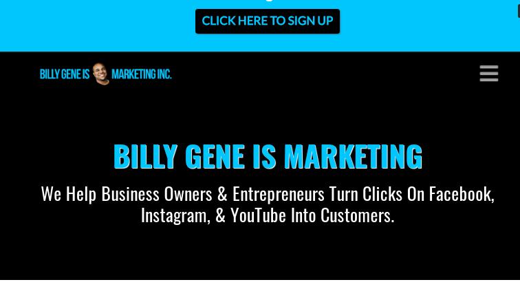 Billy gene Is MArketing