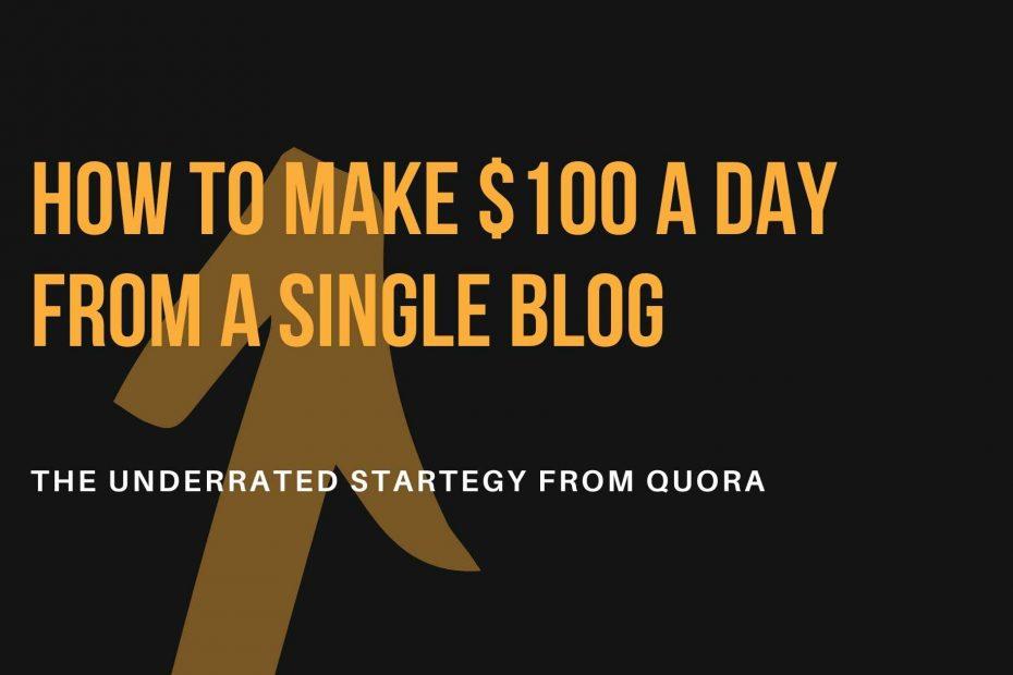 Quora Affiliate Marketing